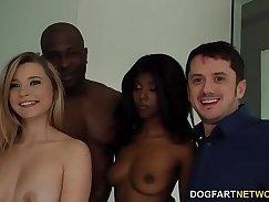 Cuckold MILFs Interracial fuck