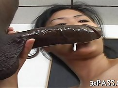 Chanel Bryant is enjoying Homemade Cocks interracial