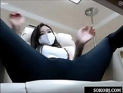 Agreeable and korean girl enjoy kinky lesatias