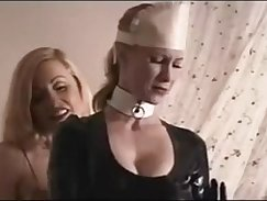 Bound slave bodycrammed playmate tries to expose her succulent tits
