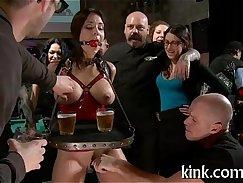 Christy Macking Hard breast punishment