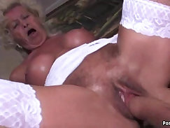 Barely legal granny fucks with fellow in her virgin