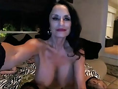 Beautiful Granny Fucked and Creampied