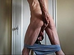 Amateur Shaking My Ass Butt and Cock
