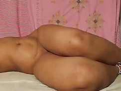 Attractive Indian BBW trying rare dildo