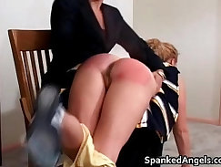 Busty Babe Works her Stockings Hot Ass