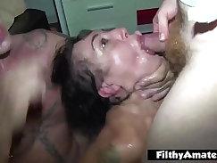 Big ass chicks reach incredible orgasm in orgy