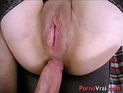 Amateur french whore tit fucks