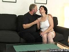 Big boob girl sucking my cock