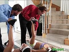 After Girls Gangbanged By Daddy Charmane