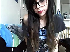 Busty Emo Teen BVR Screaming On Cam