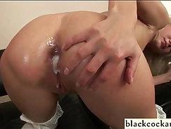 Big tits interracial orgy with Black cocks