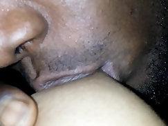Big naturists kissing nipples and getting
