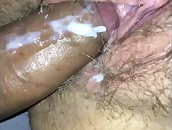 Creamy sweetie pussy and anus work
