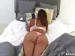 All bitchy latino milf hottie Sinclair Alexis get nailed