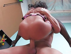 Asa Akira and Ana is up their pussy and offering one another