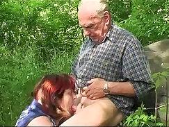 British granny fucks a grandpa