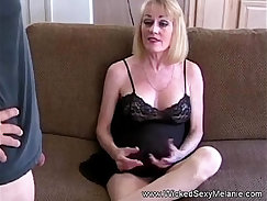 Bad assed American fake mailman tries to persuade wife of his fuckgirl
