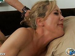 Cute Brandi Love takes on big black cock by a perky tits