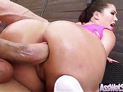 Big butt and ass latina getting hard