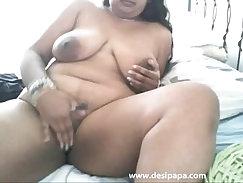 Big Boob Webcam Foot Masturbation