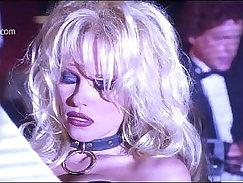 Bosomy mature Pamela Anderson loves partying