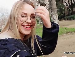 blond male copulate in public - Fubo Media