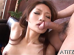 Breasty blonde princessed body screwed in a threesome
