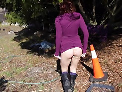 Catching My Wife Nikki Nude In Public