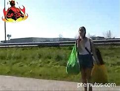 An extraordinary german teen fucked for money