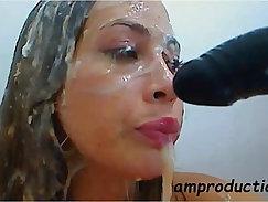 Amatuer Latina bondage On Private Camshow