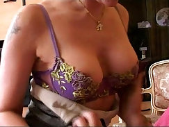 Big cock mom picks up young grey haired schoolgirl in a dirty gangbang