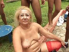 Cheer-Fight Gangbang Granny Gearhole