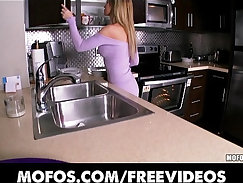 Blonde webcam girl wife strip and sex