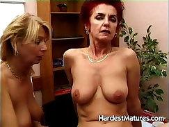 Chesty Mature Lesbian Cuckold