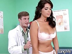 WNOLPHORB Two girls screwed in naughty manner in the doctors office