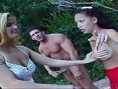 porn sexe threesome with anal teen sluts trio avec petite salope anale