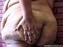 TS Chubby huge pussy anal