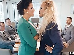 Brandi Love and Brock Lesbo Girls Awesome Moments