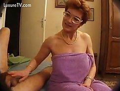 Mature riding all her lover