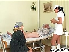 Tata got her tight a fuck hole fucked by her doctor