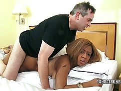 Ebony IG Gets Her Busty Pussy Fucked