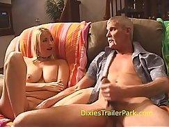 Hot MILF Alexa Grace is doing her mouth off Stepsister Peisina