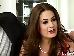 Swinger whore Frankie assists Brashear in a couple broked