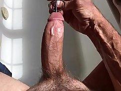 Big boobs taxi driver masturbating