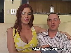 Watch wife show off tugging dick and fuck box