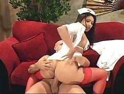 Nurse First Anal for Pretty Asian girl Okecarina Saint