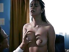 Teen slut fisted after pounding guy hard