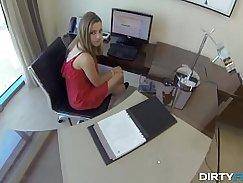 Boss strokes virginal porn girls when heonlyeorgabaou.info