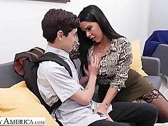 Lesbian student good hands